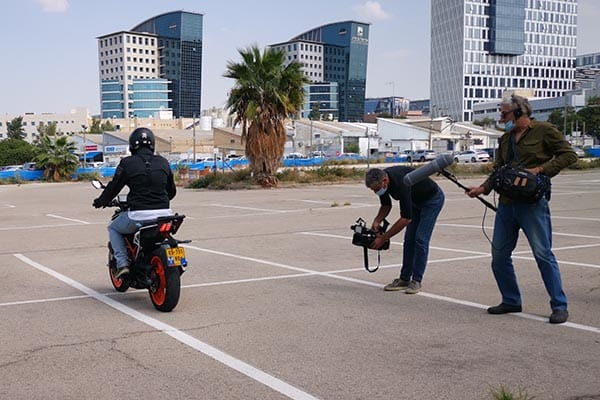 המובילאיי של האופנועים