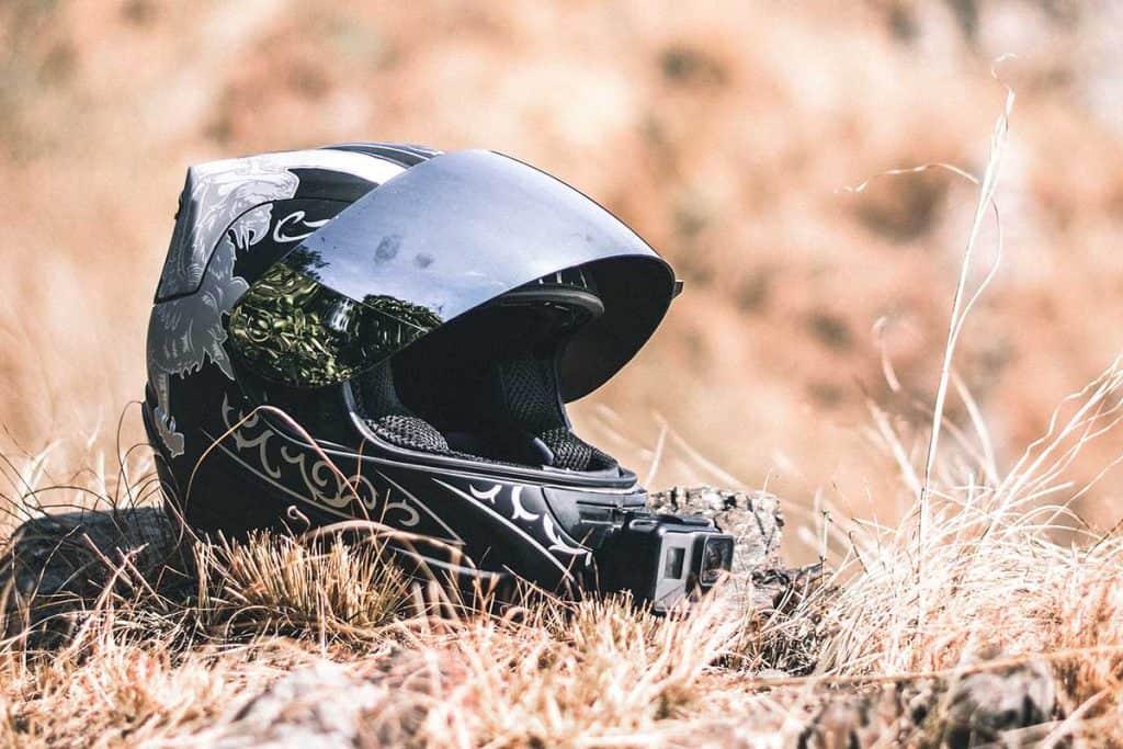 motorcycle helmet accident