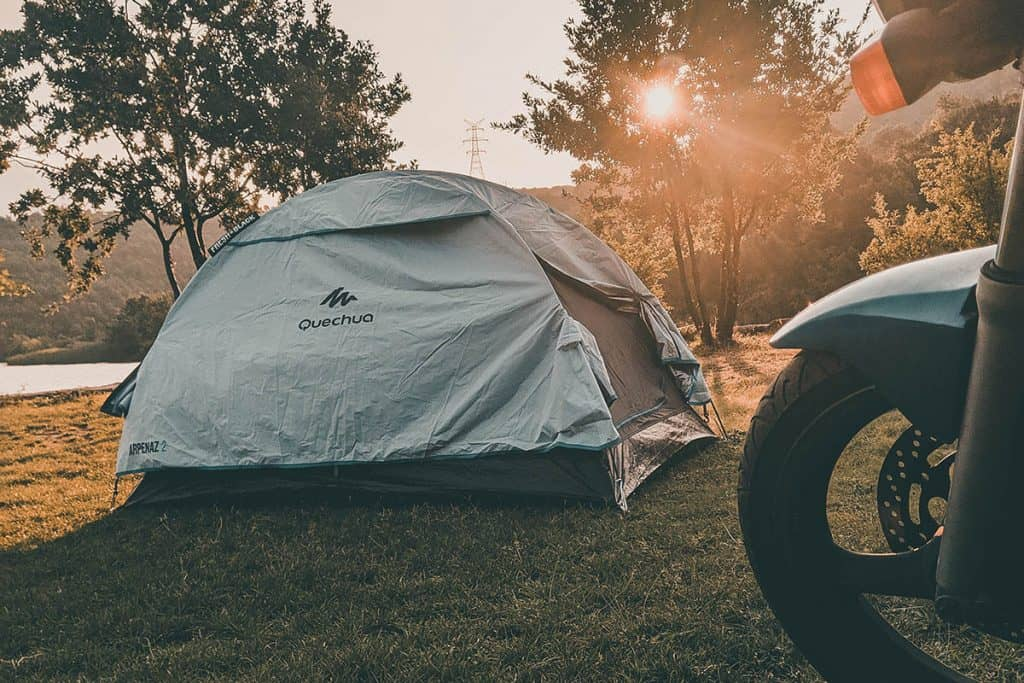The Complete Guide to Motorcycle Camping
